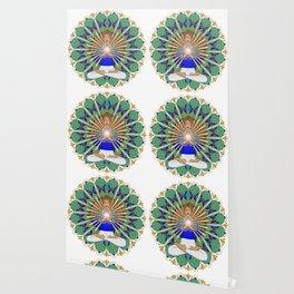 Divine Spark Mandala Wallpaper