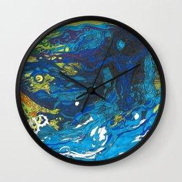 Water Elemental Wall Clock