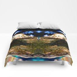 Abstract chaos ball Comforters