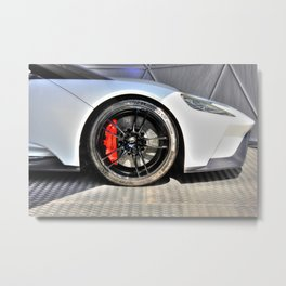 The New Ford GT Metal Print