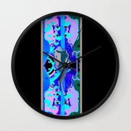 Digital Illustrations Wall Clock