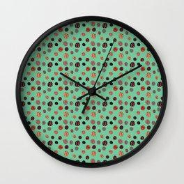 Losing My Marbles BLUE Wall Clock