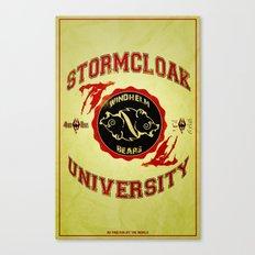 Stormcloak University(Skyrim) Canvas Print