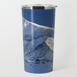 Snowy mountains. 3.478 meters Travel Mug