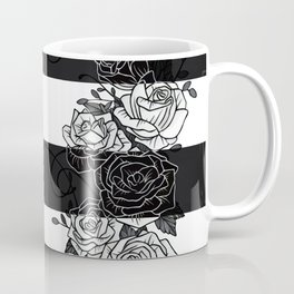 Inverted Roses Coffee Mug