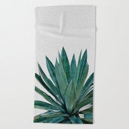 Agave Cactus Beach Towel