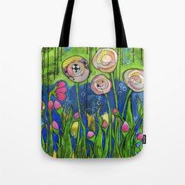 Garden Story Tote Bag