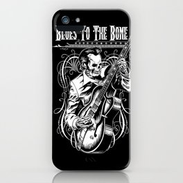 Blues to the Bone Rockabilly iPhone Case