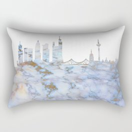 Frankfurt Skyline Germany Rectangular Pillow