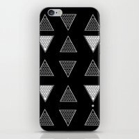 triangle iPhone & iPod Skins featuring Triangle by Emmanuelle Ly