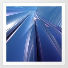 Skyward Reflections Art Print