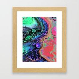 Jasper Sea - coral Framed Art Print
