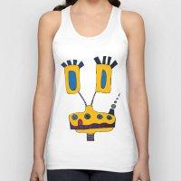 yellow submarine Tank Tops featuring yellow submarine giraffe by JBLITTLEMONSTERS