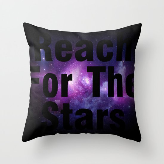 Reach For The Stars Throw Pillow