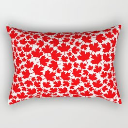 Canadian fall / Canadian flag maple leaf pattern Rectangular Pillow
