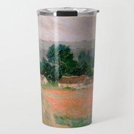 Haystack at Giverny Travel Mug