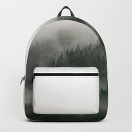 Foggy Prince William Sound Backpack