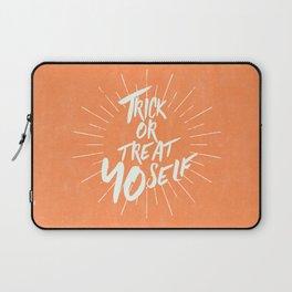 Trick or Treat Yo Self Laptop Sleeve