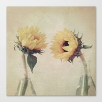 friendship Canvas Prints featuring Friendship by Marian Hilditch
