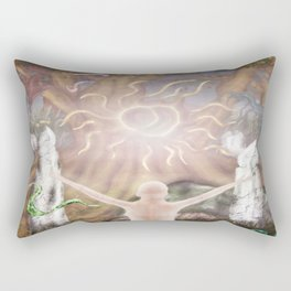 The Ritual of the Old Gods Rectangular Pillow