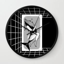Dying to Live Wall Clock