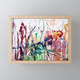 Flowerpower - Midsummer Framed Mini Art Print