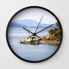 Coastal Coves Wall Clock