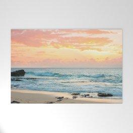 Honolulu Sunrise Welcome Mat