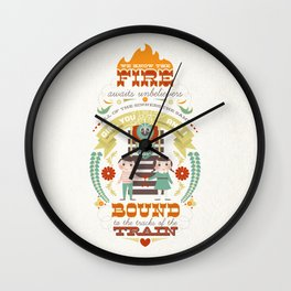 Unbelievers Wall Clock