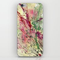 champagne iPhone & iPod Skins featuring Champagne by Vinn Wong - Original Abstract Art