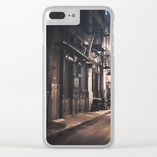 New York City - Small Hours After Midnight Clear iPhone Case