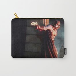 The Caped Crusader Swings Through Gotham Carry-All Pouch