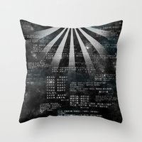 bible verses Throw Pillows featuring Tao Te Ching Verses by Manimal Dynamics