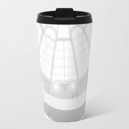 Guggenheim Interior | Frank Gehry | architect Travel Mug