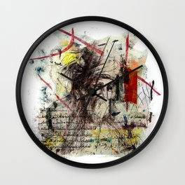 Rumi Wall Clock