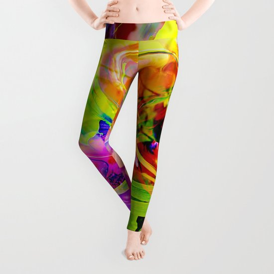 Nature Abstract 2 Leggings