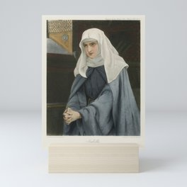 The Graphic Gallery of Shakespeare's Heroines (1896) - Isabella, from Measure for Measure Mini Art Print