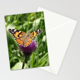 PAINTED LADY BUTTERFLY Vanessa Cardui Stationery Cards