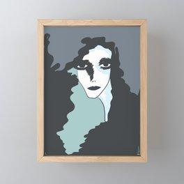 Yūrei Framed Mini Art Print