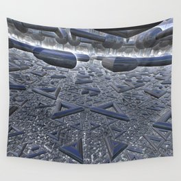 Mirrors festival Wall Tapestry