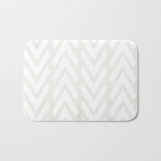 Chevron Tracks Bath Mat