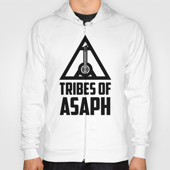 Tribes Of Asaph (Black on light) Hoody