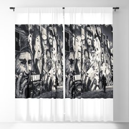 Rock n Roll Streets Blackout Curtain