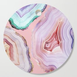 Mineral Agates #Glam collection Cutting Board