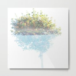 Where the sea sings to the trees - 3 Metal Print