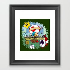 Treasure Tracked: Captain Toad's Fortune Framed Art Print