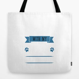 I Workout to Keep Up with My Border Collie T-Shirt Tote Bag
