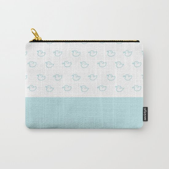 Ducklings Mint Carry-All Pouch