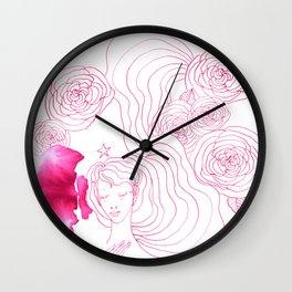 Full of serene joy Wall Clock