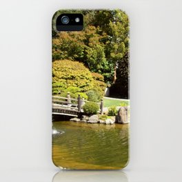 Japanese Gardens 100 0052 iPhone Case